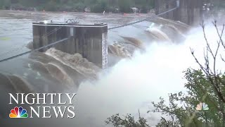 Texas Flooding Kills At Least Two After Days Of Torrential Rain | NBC Nightly News - NBCNEWS