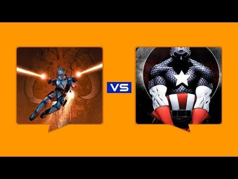Jango Fett Vs Captain America