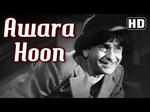 Awara Hoon - Raj Kapoor - Awaara - Mukesh - Shankar Jaikishan - Evergreen Hindi Songs