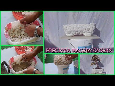 Como hacer una maceta de bonsai casera, de JM-QJ