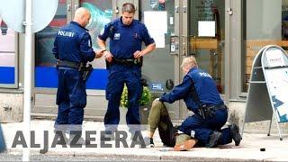 Six arrested after Finland stabbing attack - ALJAZEERAENGLISH
