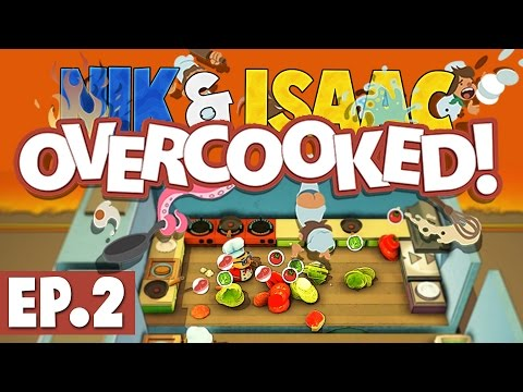 Nik & Isaac Play: Overcooked #2 [Meals On Wheels!]