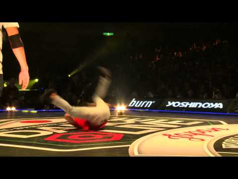 TAISUKE(THE FLOORRIORZ) vs ISSEI(FOUNDNATION) DANCE@LIVE JAPAN FINAL 2014 BREAK【FINAL】