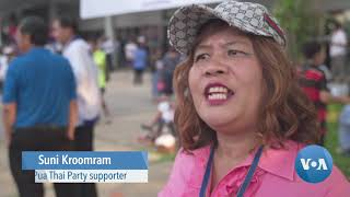 Campaigns Hold Wrap-Up Rallies Across Thailand - VOAVIDEO