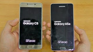 Samsung Galaxy C5 vs A5 (2016) - Speed Test! (4K)
