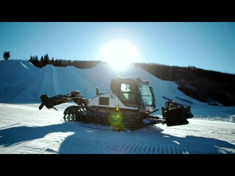 How do you drive a snowcat? Let's find out!