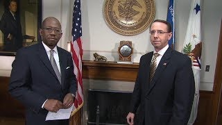 Deputy AG Rod Rosenstein interview on the opioid crisis - ABCNEWS