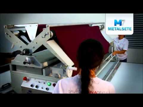 Máquina de Enfestar Tecido - Modelo M7E - Metalsete
