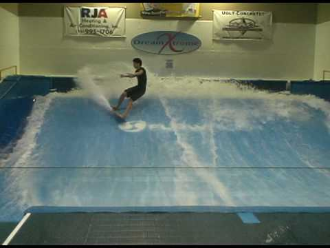 Dream Xtreme Indoor Surfing Flow Rider Sandro Decent Runs