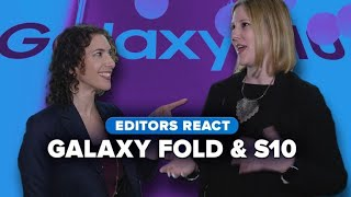Editors react: Samsung Galaxy Fold and S10 - CNETTV