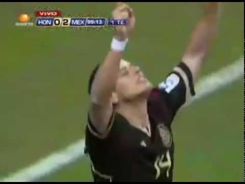 Mexico vs Honduras 2-0  Copa Oro Semifinal 2011