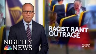 Video Captures Ryanair Passenger's Racist Rant At Black Woman | NBC Nightly News - NBCNEWS