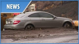 Heavy rains bring 'mud flood' to burnt hills of California - THESUNNEWSPAPER