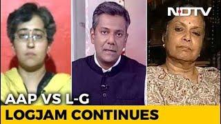 AAP vs Bureaucrats: Governance Hostage To Protest Politics? - NDTV