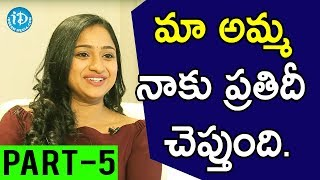 TV Artist Ashika Gopal Padukone Exclusive Interview Part #5 || Soap Stars With Anitha - IDREAMMOVIES