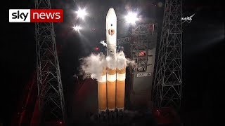 NASA's 'touch the sun' mission launches - SKYNEWS