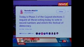 PM Modi takes to twitter to make voting appeal; asks voters to exercise their franchise - NEWSXLIVE