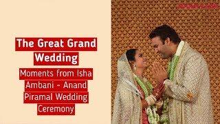 Great Moments from Isha Ambani & Anand Piramal's Wedding | Bollywood News - ZOOMDEKHO