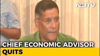 """Best Job, Not Without Controversy Sometimes"", Says Arvind Subramanian - NDTV"
