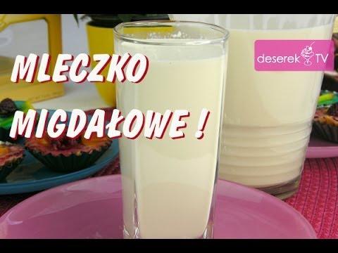 Mleko Migdałowe przepis od Deserek.TV