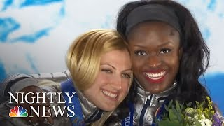 After Winning Bronze In Sochi, Aja Evans Chasing Gold In PyeongChang | NBC Nightly News - NBCNEWS