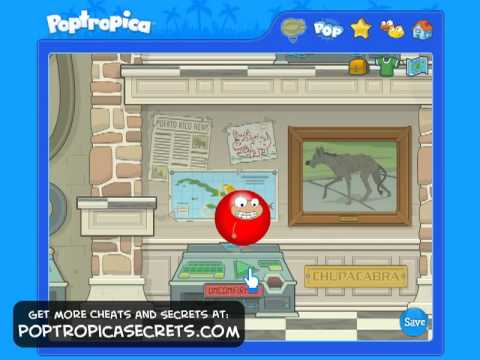 Poptropica Cheats Cryptids Island Walkthrough Part 1