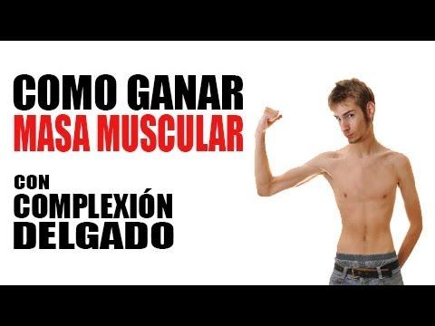 Como Ganar Masa Muscular Con Complexión Delgado
