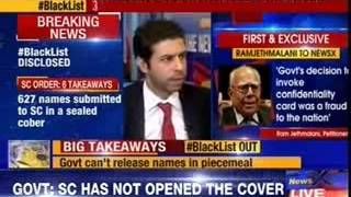 #BlackList: After Supreme Court's RAP,government  discloses 627 names today - NEWSXLIVE