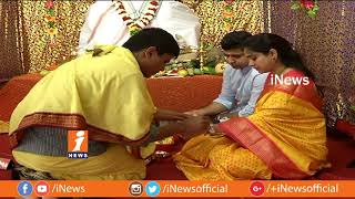 Vinayaka Chaturthi 2018 Festival Celebrated Grandly At iNews Office | iNews - INEWS