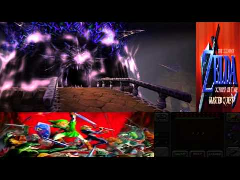 Legend of Zelda OoT Master Quest 3D 046 Ganon's Keep Infiltration