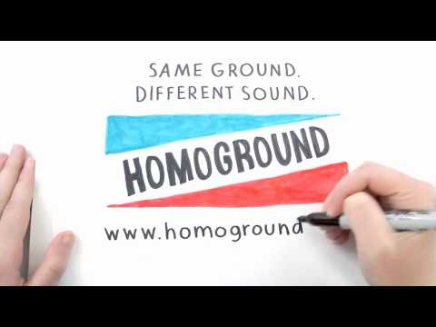 Discover queer music at Homoground.com