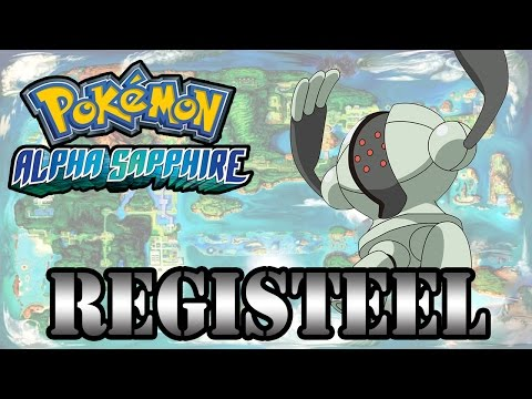 Caçando Lendários [Pokémon Alpha Sapphire] - Registeel