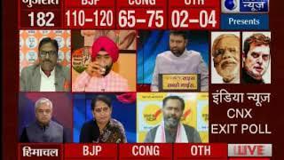 इंडिया न्यूज CNX एग्जिट पोल का अनुमान, गुजरात में बनी रहेगी बीजेपी की सरकार - ITVNEWSINDIA