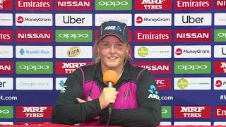 ICC Womens World T20 2018 - New Zealand player Jess Watkins - CRICKETWORLDMEDIA