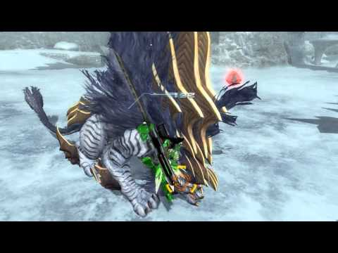 Phantasy Star Online 2 - Snow Banther & Banshee