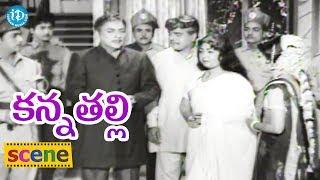#Mahanati Savitri's Kanna Thalli Movie Climax Scene || Savitri, Sobhan Babu - IDREAMMOVIES