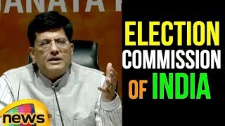 Piyush Goyal Speaks About The Election Commission Of India | Mango News - MANGONEWS