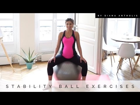 Prenatal Series Stability Ball Exercises for Pregnancy, Labor, and Delivery| Pregnancy Unleashed