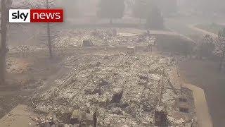 Total missing in California wildfires exceeds 600 - SKYNEWS