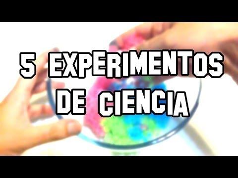 5 Experimentos de Ciencia, Caseros y Fáciles | Experimentos Caseros