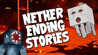 watch the youtube video Minecraft - Boss Battles - Nether Ending Stories! [12]