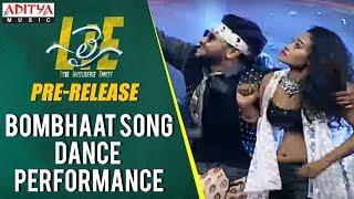 Bombhaat Song Dance Performance @ Lie Movie Pre Release || Lie Movie || Nithiin, Megha Akash - ADITYAMUSIC