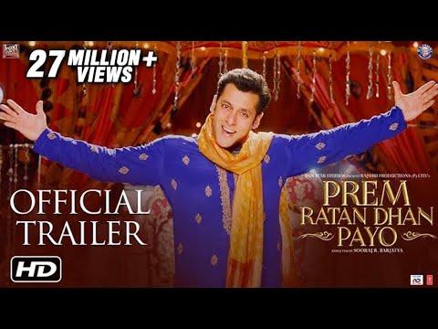 Prem Ratan Dhan Payo Official Trailer | Salman Khan & Sonam Kapoor