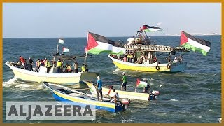 🇵🇸 🇮🇱 Gaza fishermen stage protest over Israeli blockade | Al Jazeera English - ALJAZEERAENGLISH