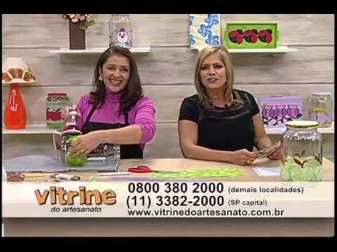 Customização com Réguas - Isamara Custódio - Vitrine do Artesanato na TV