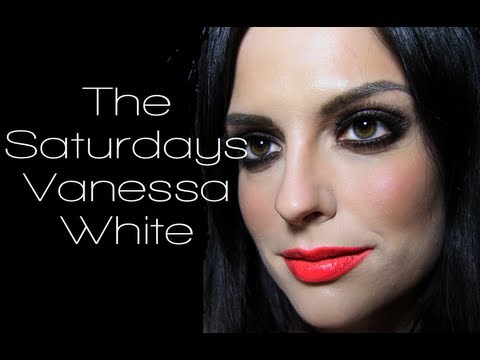 Vanessa White The Saturdays Makeup Tutorial (Gentleman Music Video Makeup)
