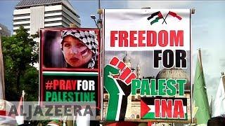 From Syria to Indonesia: Protests over Jerusalem spread - ALJAZEERAENGLISH