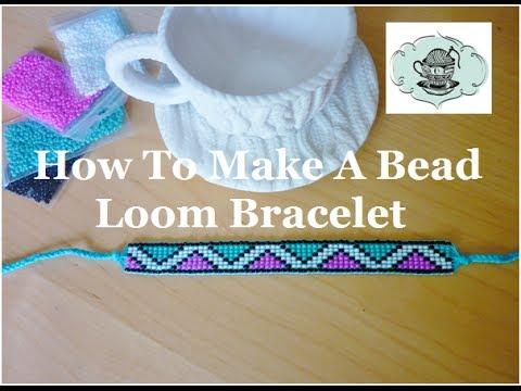 DIY Bead Loom Bracelet How-To ¦ The Corner of Craft