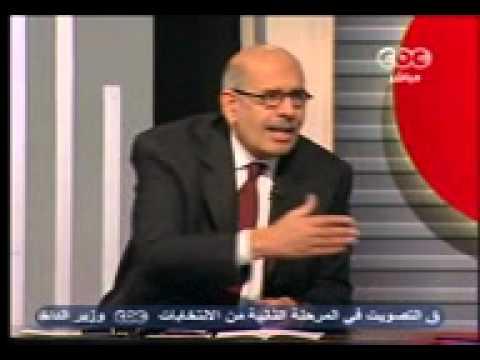 فيديو حلقة د. البرادعي مع مجدي الجلاد قناة CBC