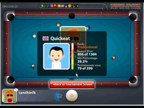 miniclip 8 ball pool multiplayer 16 player tournament